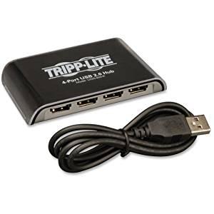"""Tripp Lite, 4-Port Usb 2.0 Hi-Speed Hub Hub 4 X Usb 2.0 Desktop """"Product Category: Networking/Usb/Serial Hubs"""""""