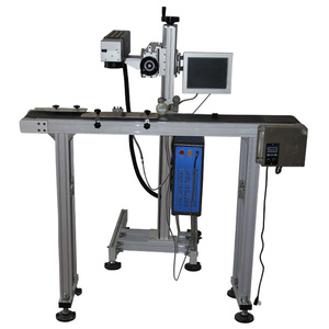 Zixu Companies Looking For Distributors 30W Animal Ear Tag Fiber Laser  Marking Machine Laser Engraving For Plastic With Conveyor