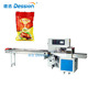 CE Certification Automated Roast Duck Packing Machine In Pillow Bag Filling And Sealing Machine