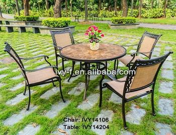 5 Pcs Dining Set Mosaic Tabletop Ceramic Garden Table Set/home ...