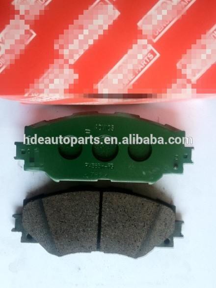 Hot sale factory direct price brake pads for corolla home use