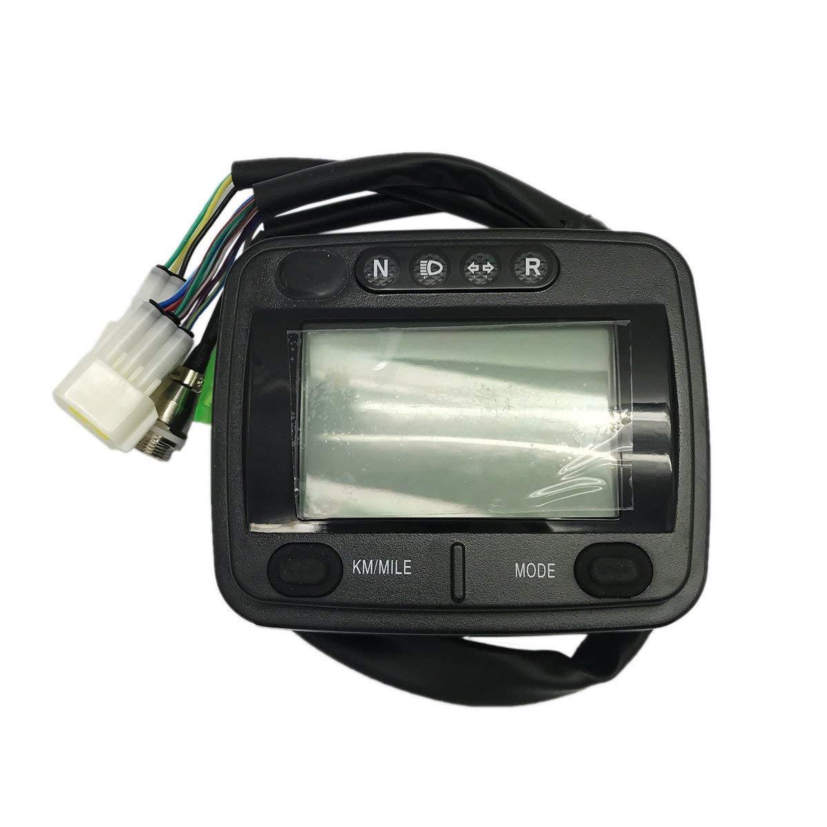 Get Quotations · JA-ALL Digital Speedometer Meter Assy for Linhai Xingyue  Buyang 300cc D300 G300 ATV