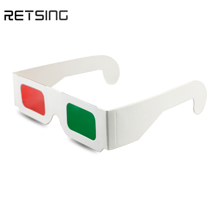 5f4a67b74be Paper Red Green Anaglyph 3d Glasses With Customized Printing - Buy ...