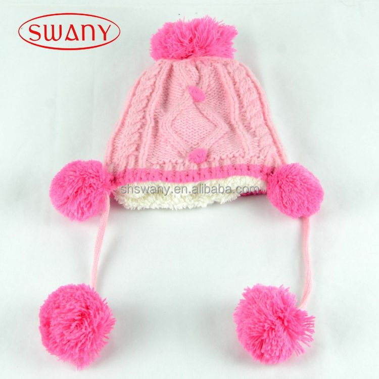 High performance economic cute knitted baby hat