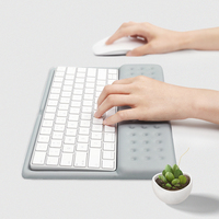 Slow Spring Back Memory Foam Keyboard Mouse Wrist Rest Pad
