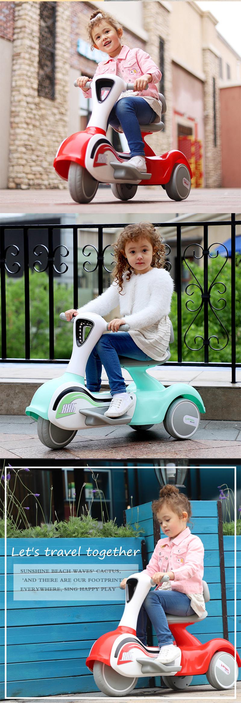 Neue kinder elektrische motorrad elektrische dreirad batterie lade junge und mädchen kinder spielzeug auto