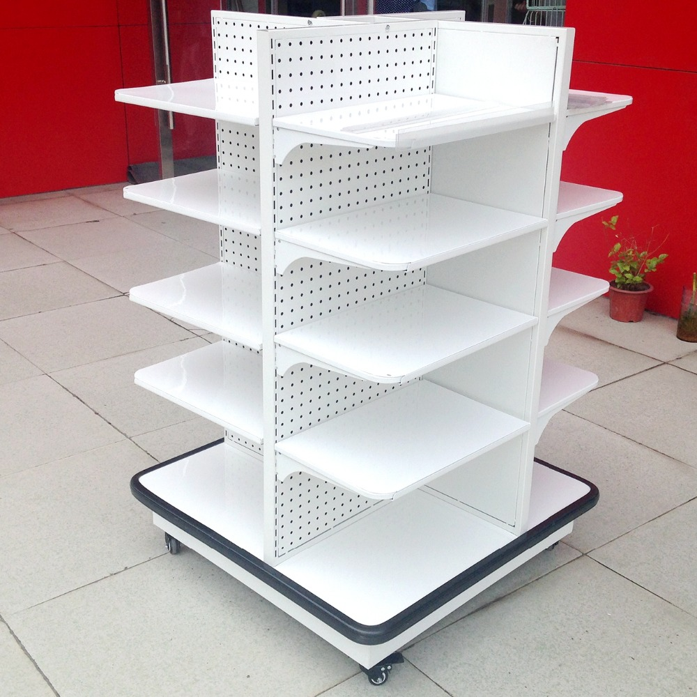 Best Quality Four Side Shelf/Candy Shelf/Snack Display Rack