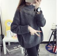 Fancy ladies tops 2017 korea style fall warm women sweaters