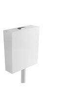 Sanitary wares wall hung PP white toilet water tank Squatting toilets water tank