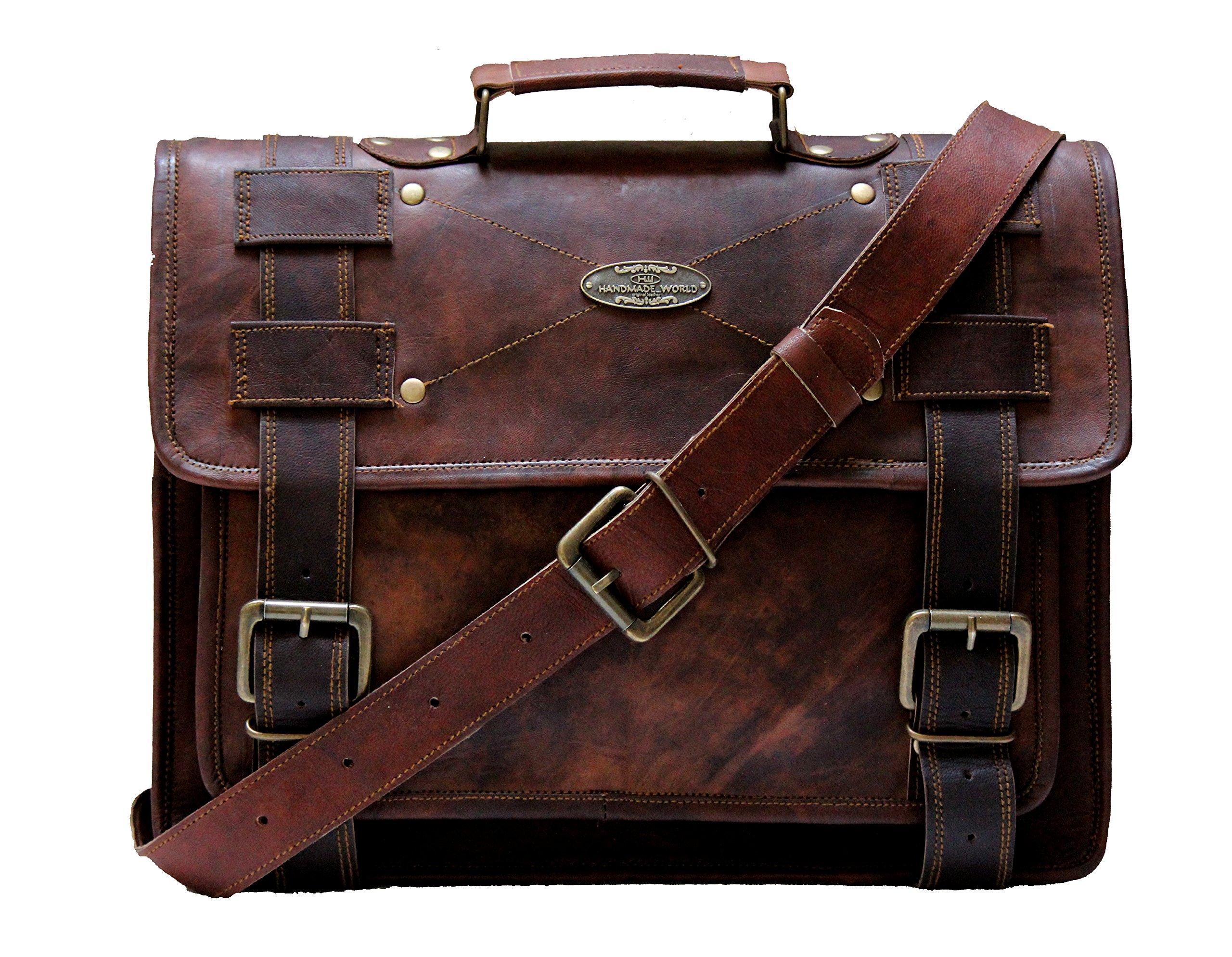 Handmade world Leather Messenger Bags 15