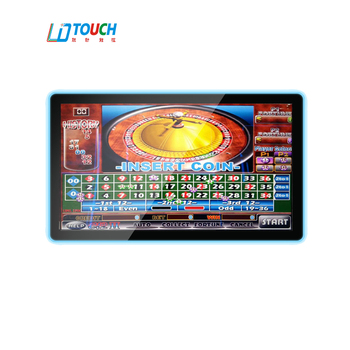 23.8 inch  frame lamp Game Touch Monitor