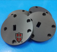 gas pressure sintered silicon nitride ceramic plate custom made with high quality factory