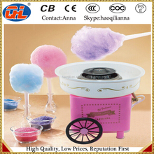 Electric cotton candy cart machine