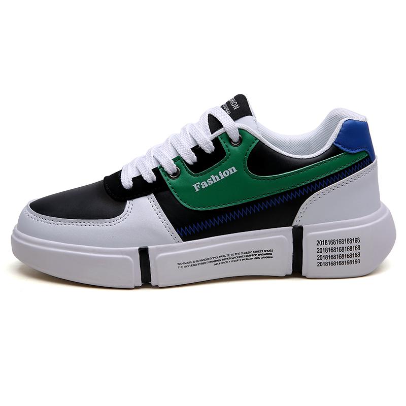 a1031918c90 Nuevo Producto de hombres zapatillas de deporte con la parte superior de la  pu material de