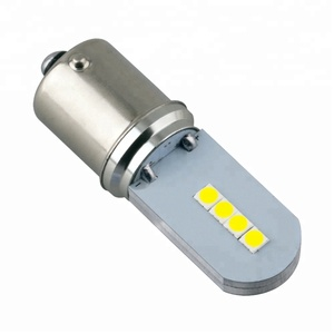 high power car h1 h4 lighting led bulb motorcycle hid xenon lights 1156/1157 8 SMD 3030 headlight