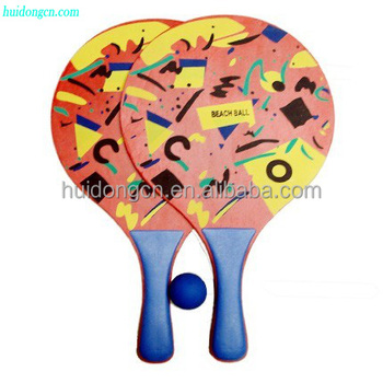 Beach Paddle Ball Set Whole Custom Professional Racket With Promotional Bat