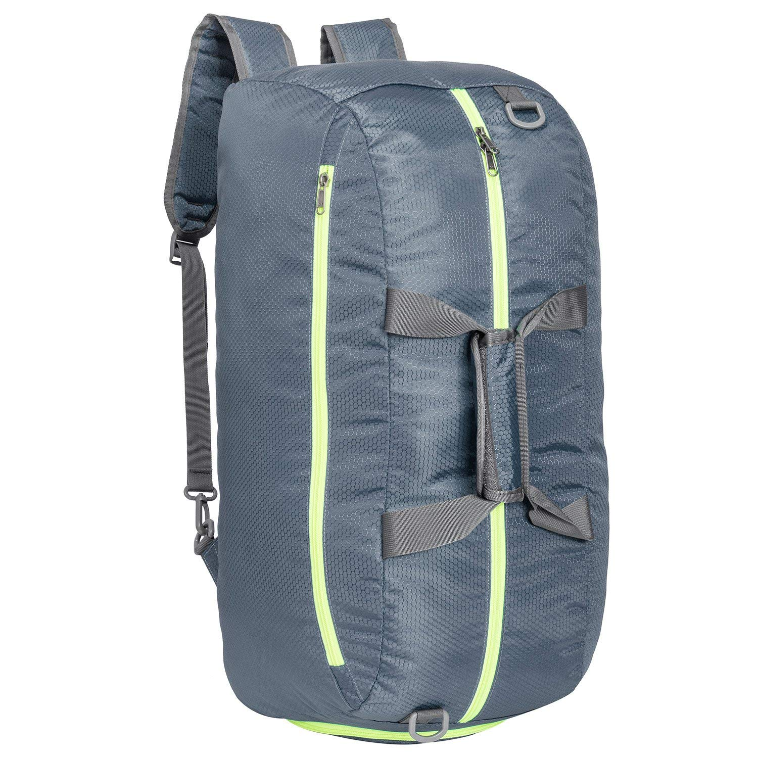 a6a7d866a5 Get Quotations · Riavika Travel Duffel Bag Backpack Luggage Gym Sports Bag  with Shoe Compartment