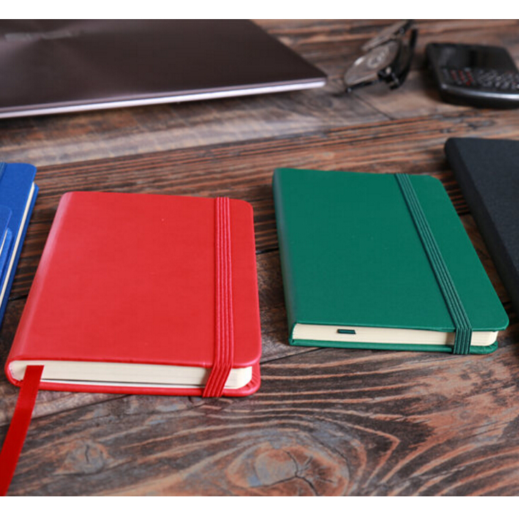 New style best quality hardcover magnetic moleskin notebook