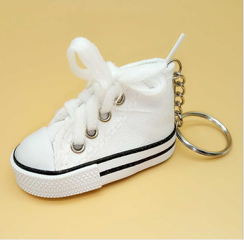 9ac9087de727a New Arriva Item Mini Canvas Shoes Key Ring - Buy Fancy Key Rings,Keychain  Mini Tennis Shoes,Cheap Shoe Keychains Product on Alibaba.com
