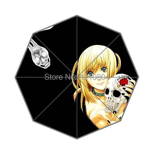 Горячая Аниме Death Note Фон Отпечатано Складной Дождь Солнце Зонты Для Мужчин Использовать! Бесплатная Доставка