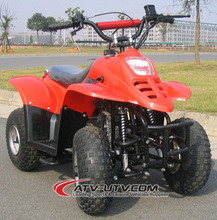 Mini Quad Gasoline Kids ATV 50cc Air cooled 4 stroke 4 wheels Pull Start