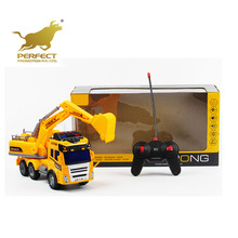 Best selling modern kids toys 1:15 rc construction vehicles with music and light