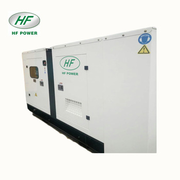 80kw silent type water cooled diesel generator set
