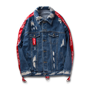 Wholesale Fashion Style Stock/Custom Denim Jacket For Men