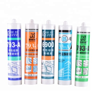 Free Sample 280ml 300ml Neutral Sanitaryware Silicone Sealant With Cheap Price