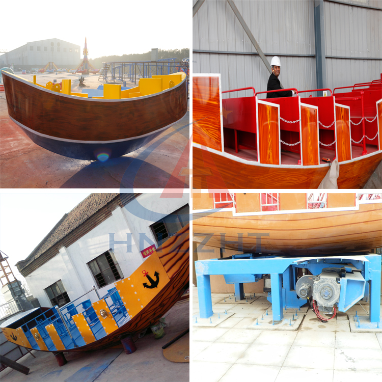 Factory price! Thrilling outdoor  amusement park ride pirate ship for Sale