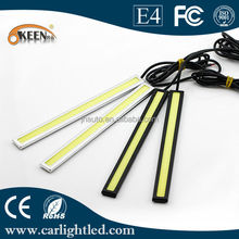 Waterproof High Power 10W DRL COB 17CM Auto Car Daytime Running Lights 12V IP65