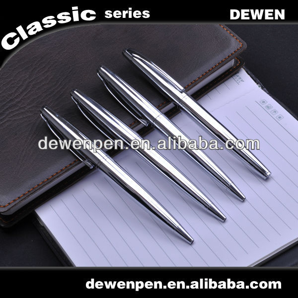 2013 dewen flexible fine tip gift metal ball pen