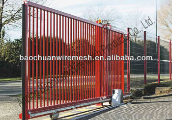 Metal gates and doors with motor