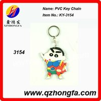 3D Advertising Soft PVC KeyChain