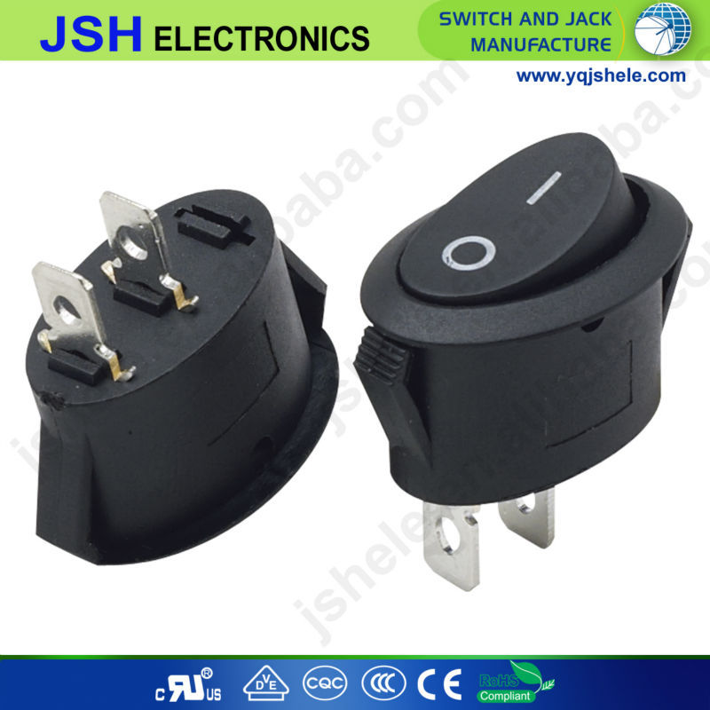 12 Volt Spdt Nonilluminated On Off On Toggle Switch Black 1 Pc