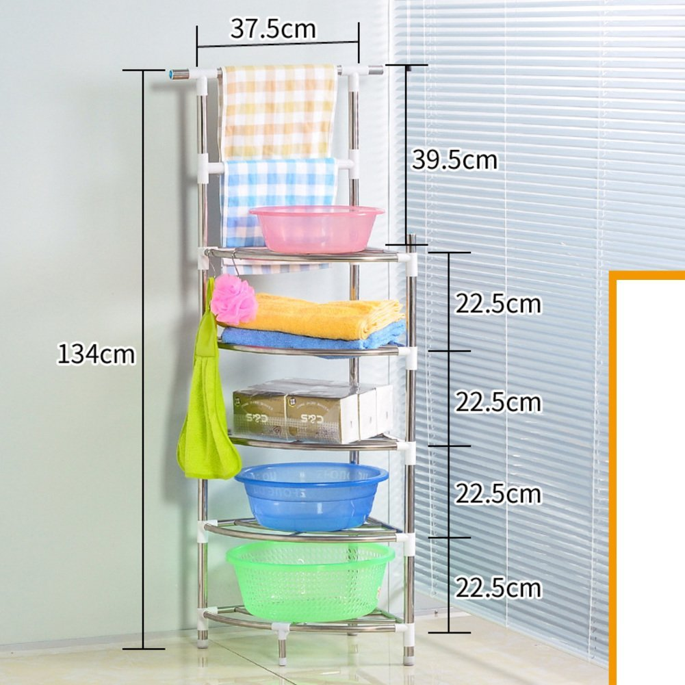 Buy stainless steel wash-basin/Tripod/shelf /The bathroom Towel rack ...