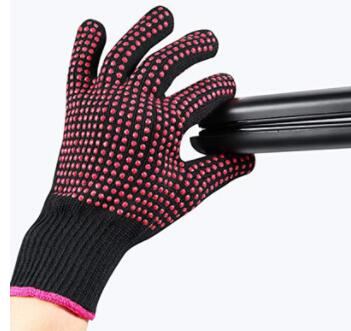 Anti-Scald Hair Straightening Brush  heat resistant glove  with Fast Heating