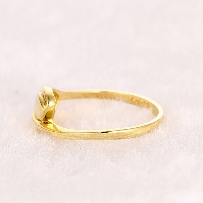 Simple Gold Ring Designs Gold Engagement Rings Dubai Jewelry Set ...