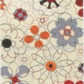 Küçük çiçek Deseni Püskürtme Gibi Boyama Canlı Renk Güzel Desen