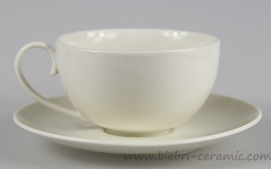 Whole Super Plain White Porcelain And Bone China Coffee Tea Cup Saucer Sets
