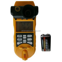 6 in 1 multi function from voltage metal wood and stud detector to distance meter and laser level line UL500