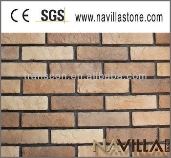 Eco Friendly Exterior Wall Brick Veneer 01016 Y Buy Eco Friendly Exterior Wall Brick Cement