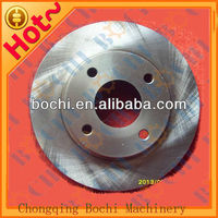 China best saling car spare parts high quality semi metal front brake disc rotor for howo
