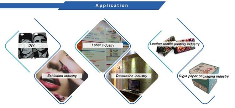 CE Certification DX7 printer head flatbed uv printer a3
