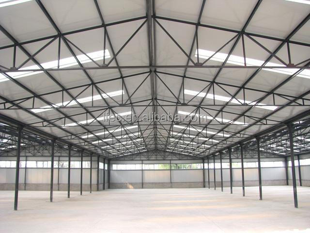 flexible customized design curved steel building warehouse
