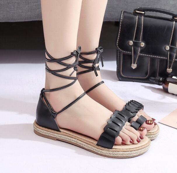 706644c65095c Zm34900a China Wholesale Sandal New Model Ladies Flat Pu Sandals ...