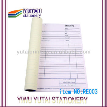 invoice format for trading company