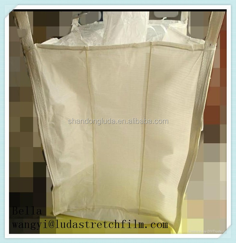 100% raw material Hot sale and Top quality ton bag for food and sand ton bag