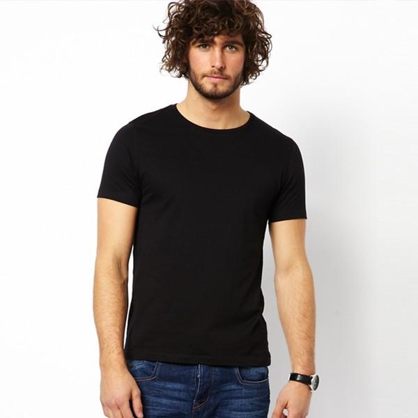 China Mens Plain Black T-shirt Wholesale 🇨🇳 - Alibaba