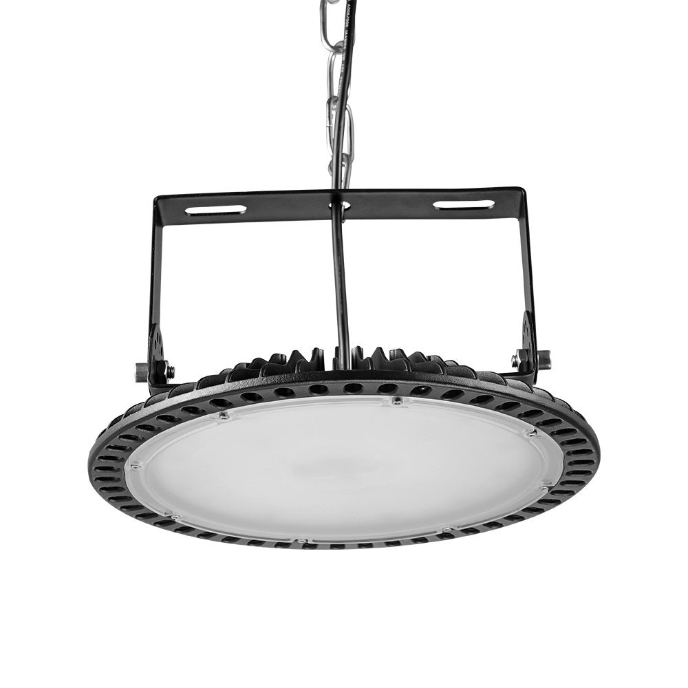 100W UFO High Bay LED Lighting,Getseason Super Bright Commercial Lights,Commercial Grade Area Ultra Thin and Efficient for Warehouse Workshop Hanging Lighting Fixtures
